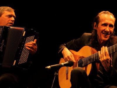 Serge LOPEZ/Jean Luc AMESTOY en concert au Fort Pas sans toit Montauban