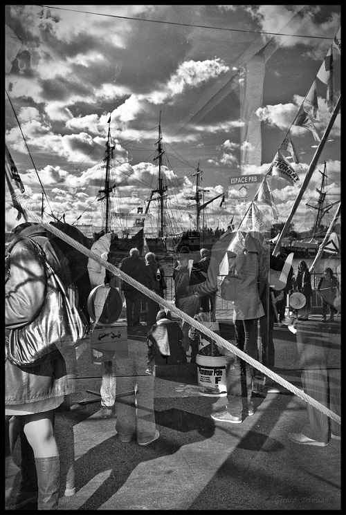 Du noir au blanc - Galerie du Fort - Montauban - Habitat jeunes