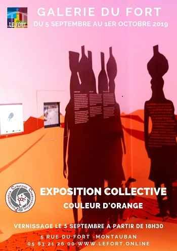 PCC - Couleur d'orange galerie du Fort montauban