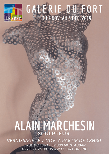 Alain MARCHESIN Galerie du Fort exposition Montauban