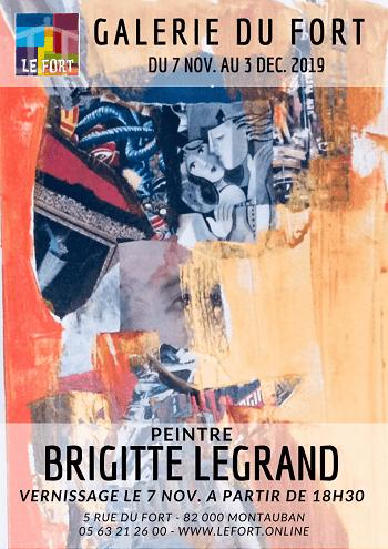 LEGRAND B Galerie du Fort Montauban Habitat jeunes exposition