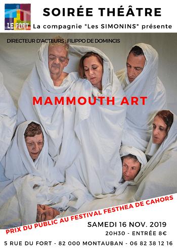 MAMMOUTH'ART théâtre Le Fort Montauban habitat jeunes