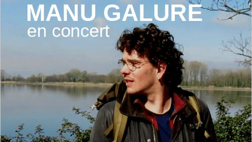 Manu GALURE Concert au FOrt Montauban Habitat Jeune Accueil du FOrt la brique rouge production