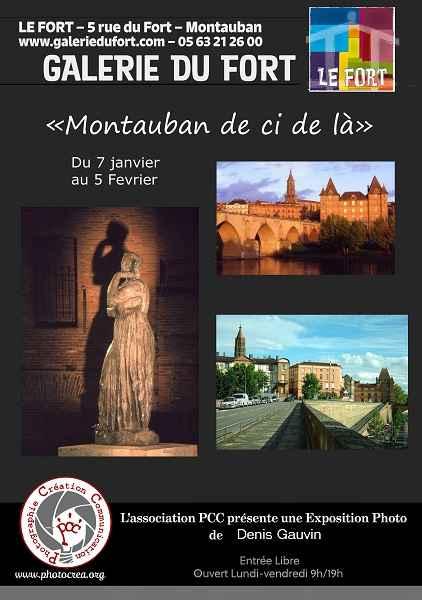 Pcc Galerie Le Fort Montauban exposition photographie