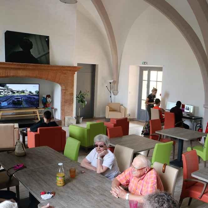 Accueil du Fort Habitat Jeunes Hébergement personnes âgées autonomes Montauban