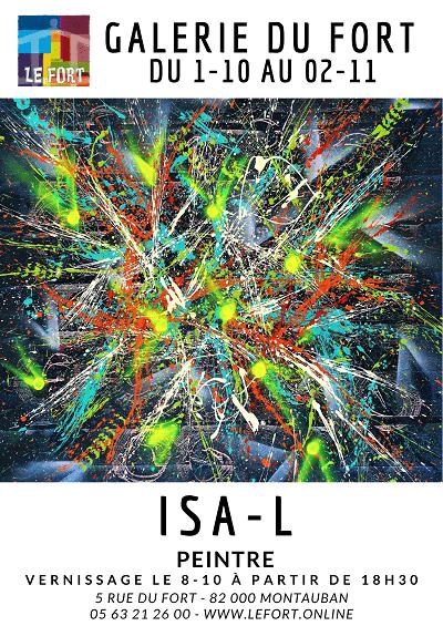 Exposition ISA-L Oct 2021 Galerie du Fort #montauban #habitatjeunes