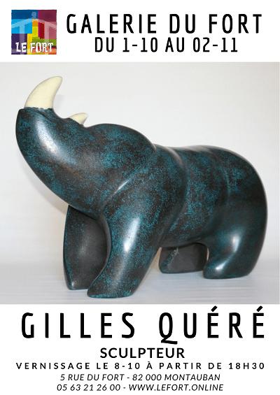 Exposition QUERE Oct 2021 Galerie du Fort #montauban #habitatjeunes